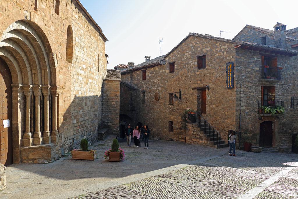Iglesia parroquial de Santa María de Ainsa