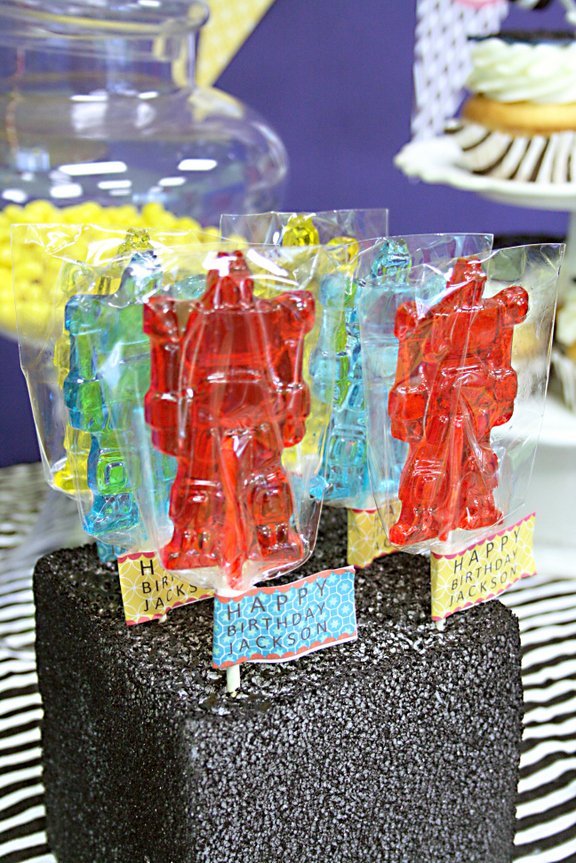 Transformer Birthday Party