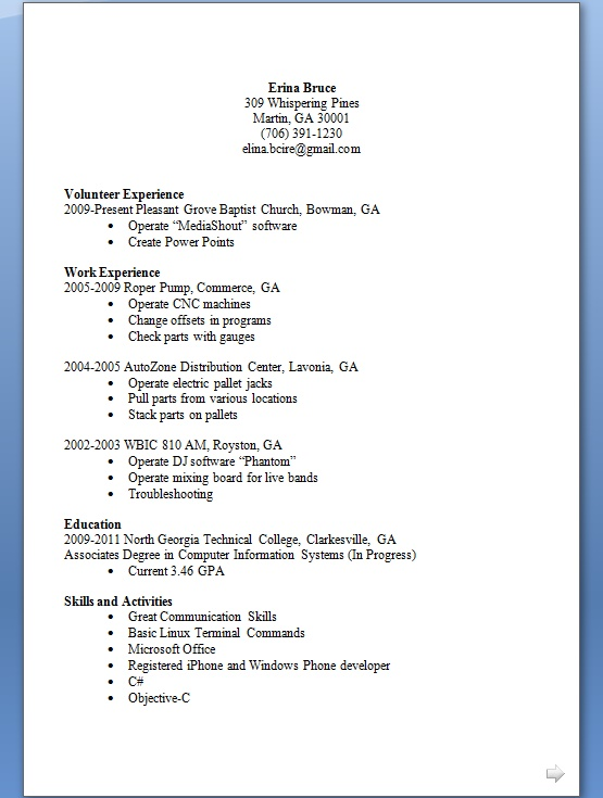 iphone and windows phone developer sample resume format in word free download