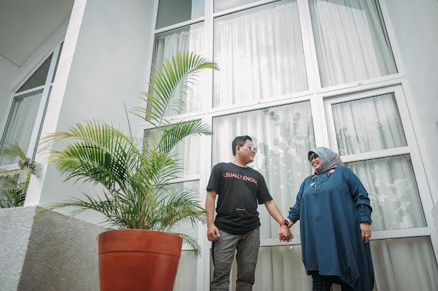 Liburan Mas Eki & Istri