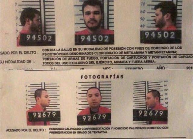 Reos fugados del Cártel de Sinaloa de penal dejan mensajes de despedidas en sus celdas