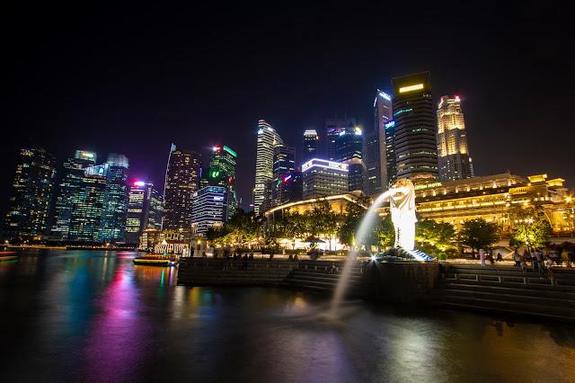 Merlion-Marina Bay-Singapore