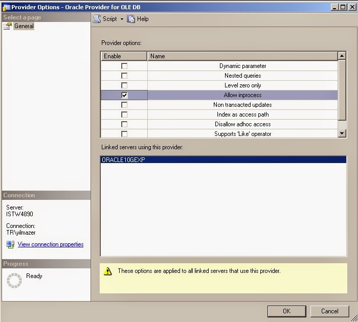 System & Database Related Solutions: dblink in MS SQL Database