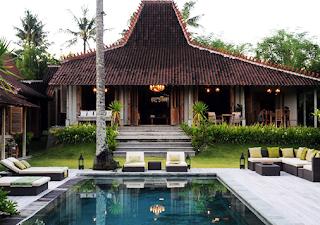 Gambar Desain Rumah Etnik Jawa Modern 2