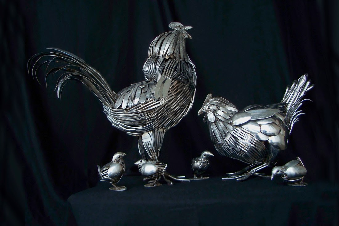 18-Gary-Hovey-Recycled-Cutlery-Sculptures-Knifes-Forks-and-Spoons-www-designstack-co