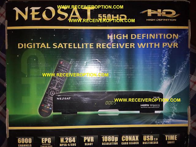 NEOSAT 550HD RECEIVER POWERVU KEY SOFTWARE