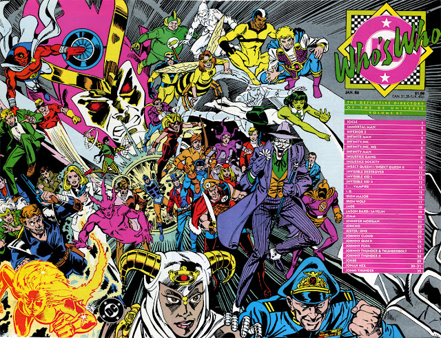 cover of Who's Who v1 #11 (1986). Source: http://firestormfan.com/
