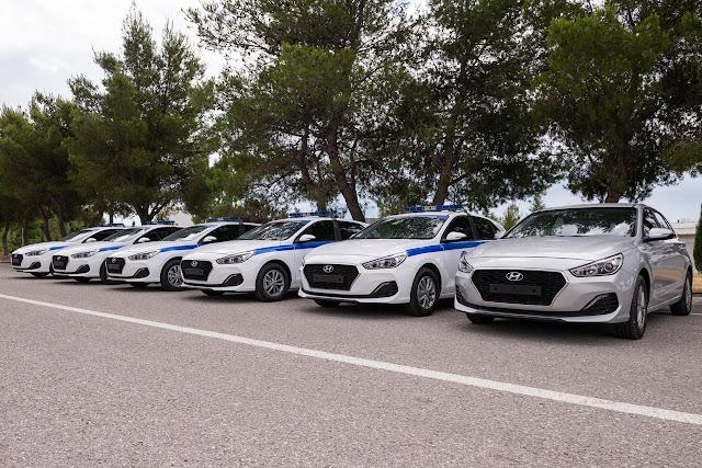 Με 599 οχήματα ενισχύθηκε η Ελληνική Αστυνομία από την αρχή του έτους