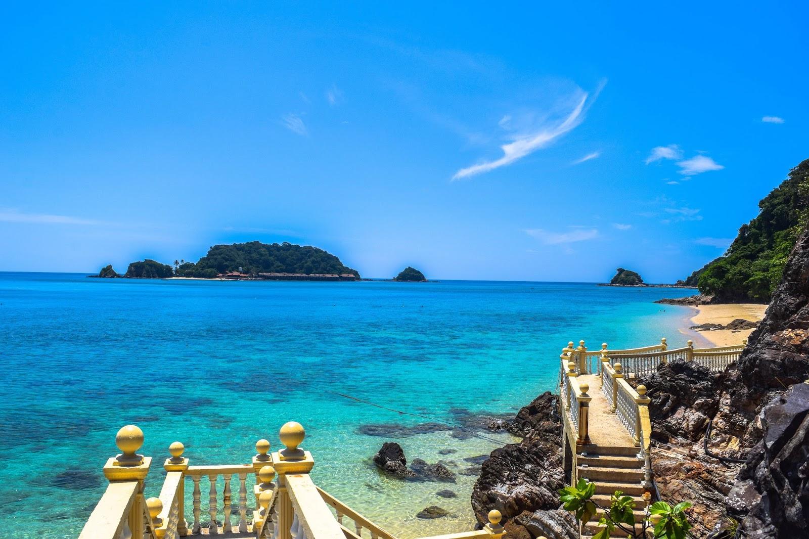 Kapas Island Or Fondly Known As U Is A Resort Located Off The Coast Of Marang Town Terengganu In Peninsular Malaysia