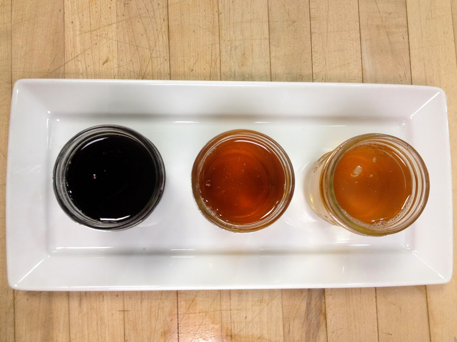 5fb2ec93f7a Each of the syrups below were boiled down to the same exact sugar content  but have different consistencies