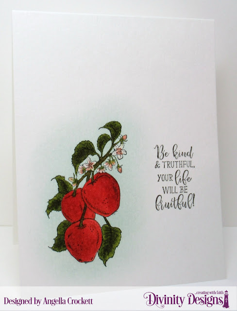 Divinity Designs Apple Branch, Card Designer Angie Crockett