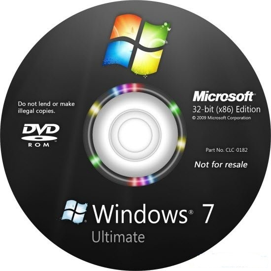 Download Windows 7 SP1 Ultimate x86 en-us Pre-Activated Sep