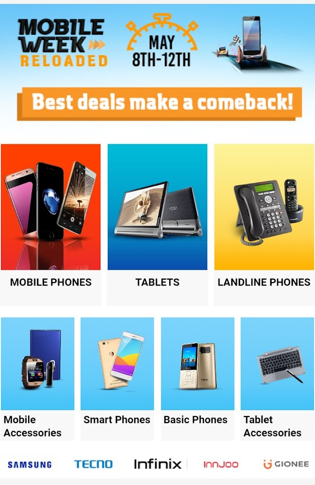 Have You Heard About Jumia Mobile Week Reloaded?