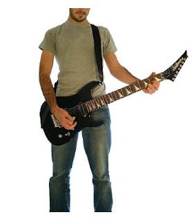 Pravilno držanje gitare