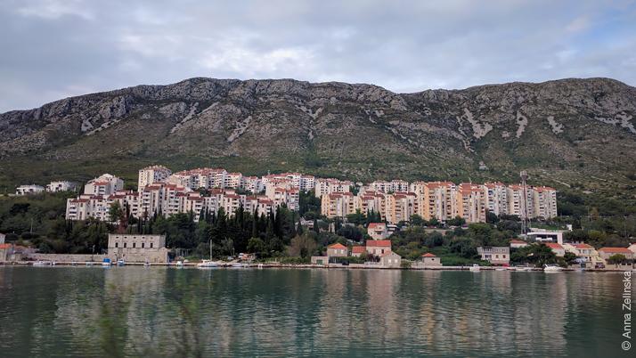 Спальный район Дубровника, Хорватия