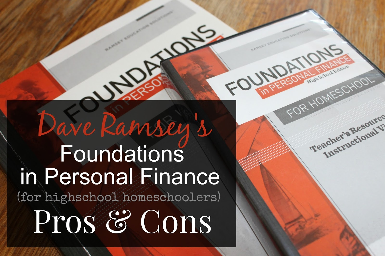 The Unlikely Homeschool: Dave Ramsey's Foundations in Personal ...