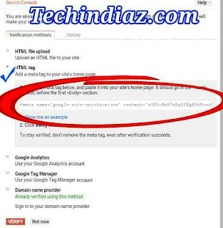 Webmaster Tools me Site kaise submit kare?