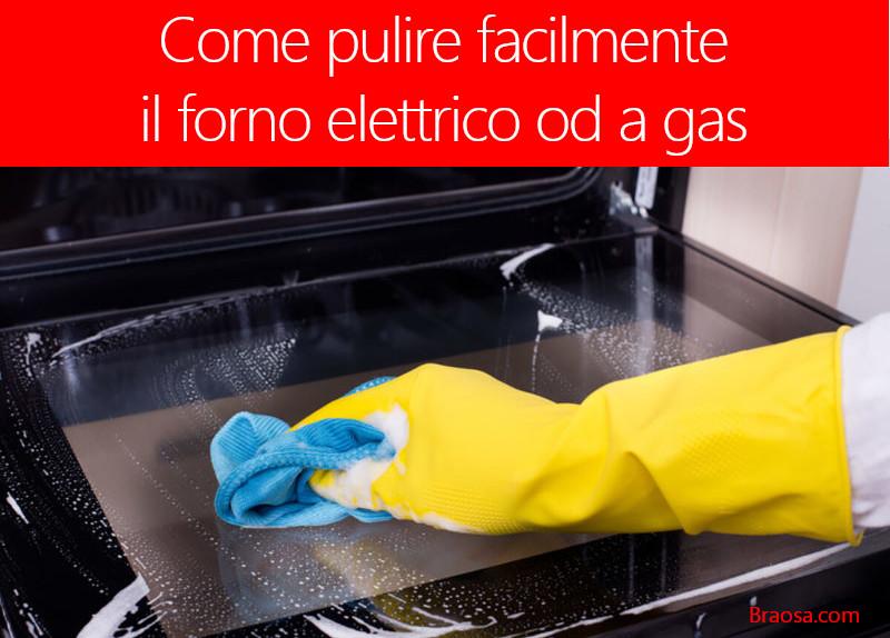 Come pulire il forno elettrico o gas di casa