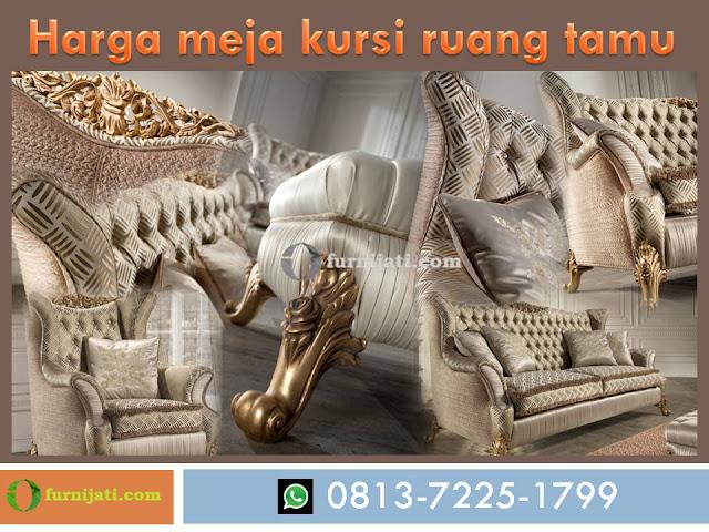 Harga meja kursi ruang tamu