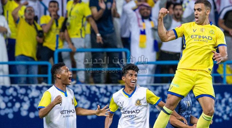 النصر يتوج بلقب كأس السوبر السعودي بعد الفوز بضربات الجزاء على فريق التعاون