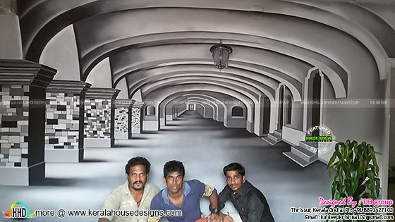 3d wall decor in Kerala