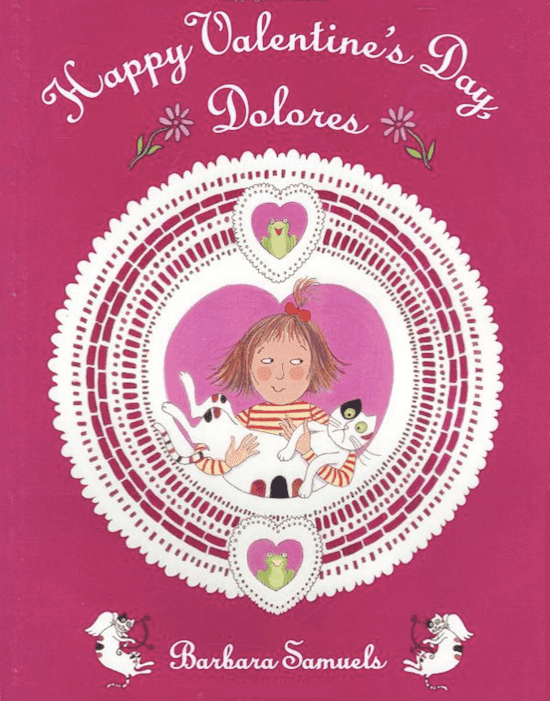 Happy Valentine's Day, Dolores: Book Reviews and Activities #gradeonederful #valentines #valentinebooks
