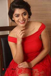Actress Yamini Bhaskar Latest Pictures in Red Dress at 100 Days of Love Movie Audio Launch  0105.JPG