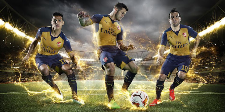 The new Puma Arsenal 2015-16 Away Shirt is already a favorite amongst  Arsenal supporters. a8905c120