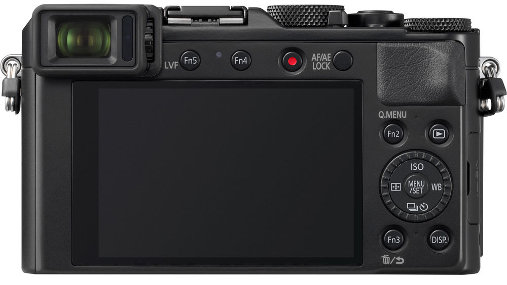 Panasonic Lumix LX100 II, вид сзади