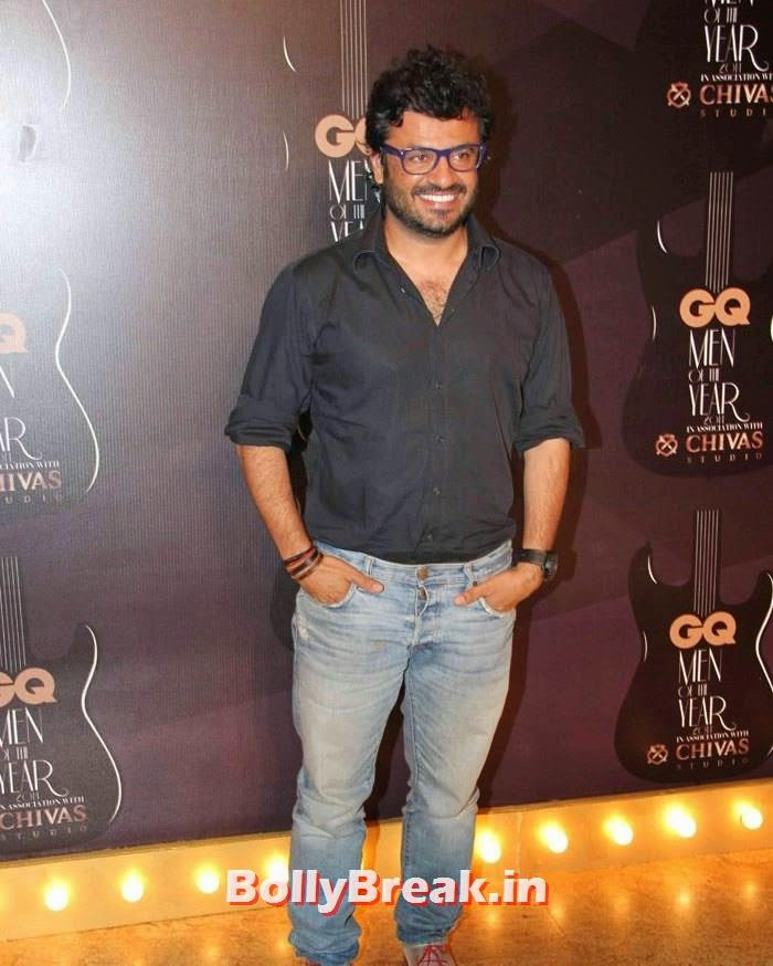 Vikas Bahl, Red Carpet Pics of GQ Men Of The Year Awards 2014