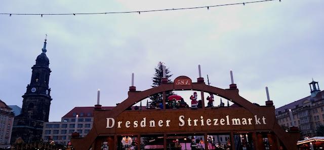Besuch auf dem Dresdner Striezelmarkt