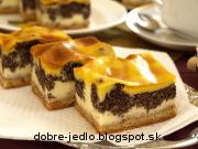 Tvarohovo-makový koláč - recept