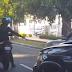 DIGESETT aclara persona captada en video disparando a neumático de un vehículo no pertenece a esa institución
