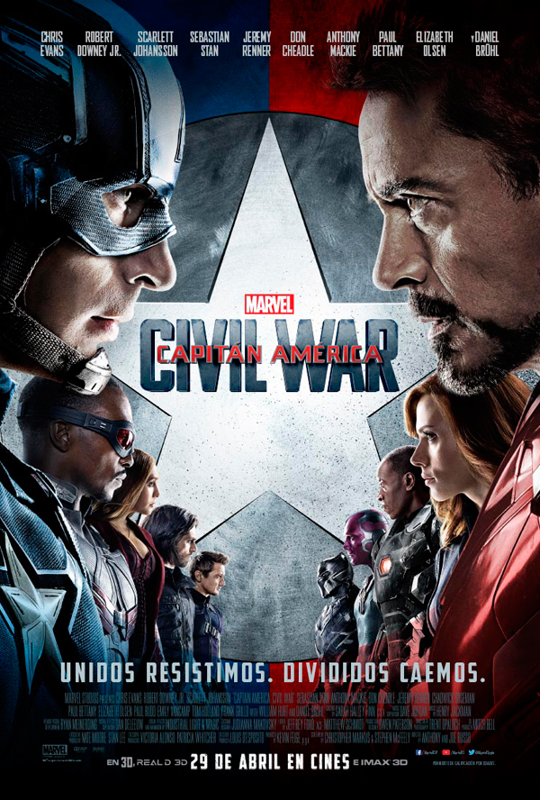 Cartel Capitán América: Civil War
