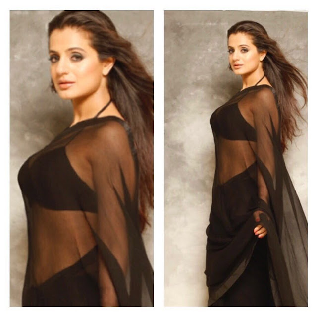 Ameesha Patel Hot Cleavage Pictures