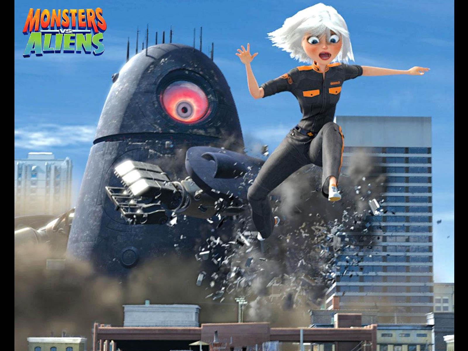 monster vs aliens