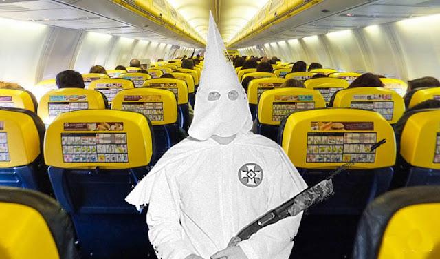 Vigilantes jurados en los aviones