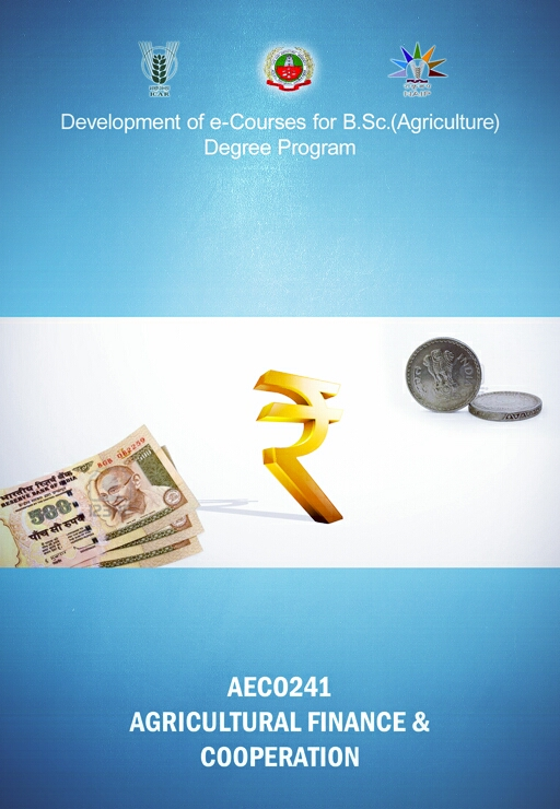 Agricultural Finance and Cooperation ICAR Ecourse Free PDF Book Download