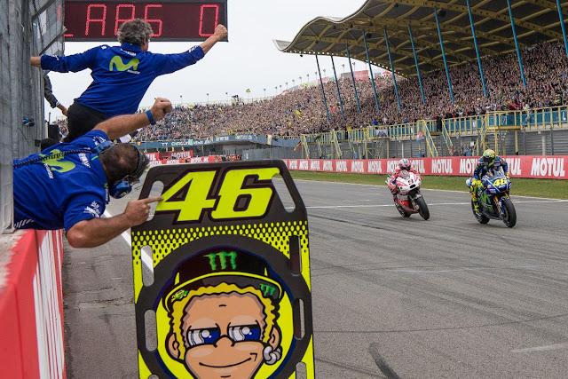 Juara MotoGP Assen 2017 | #1 Rossi - #2 Petrucci  #3 Marquez