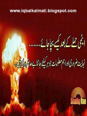 How to Survive a Nuclear Attack In Urdu PDF