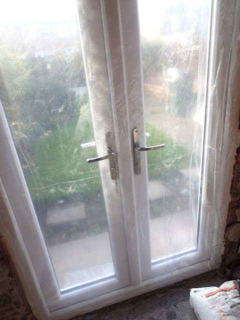 keeping french doors dust free