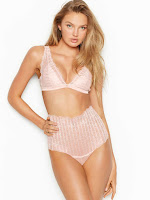 Romee Strijd sexy lingerie model