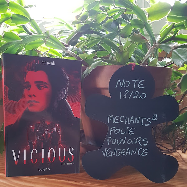 Evil, tome 1 : Vicious de Victoria E. Schwab