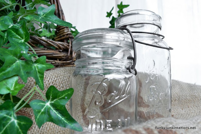clear ball jars photography natural light