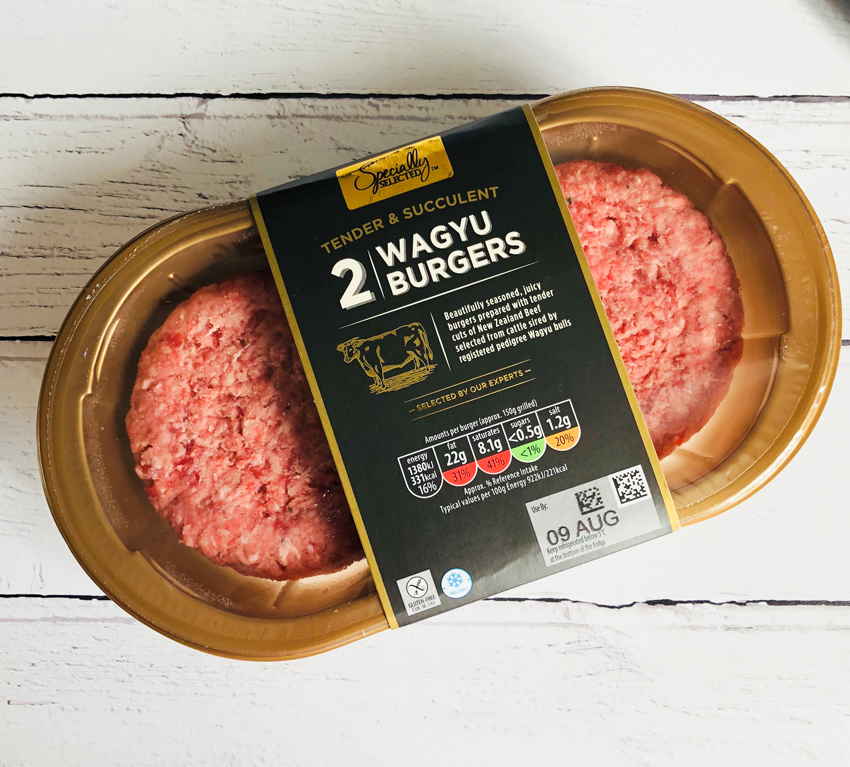 ALDI Pack of Two Wagyu Burgers