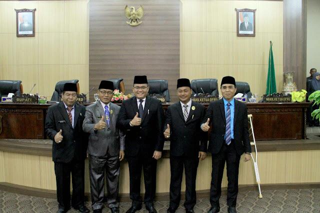 Pemkab Muba Bersama DPRD Setujui Raperda Pesta Rakyat