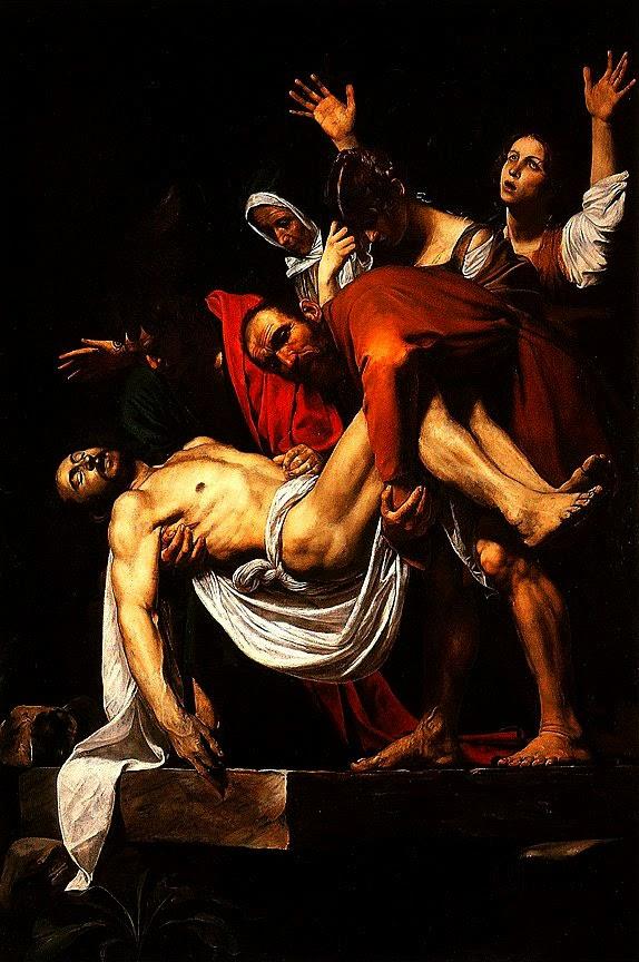 Caravaggio   Deposicao Cristo - Caravaggio