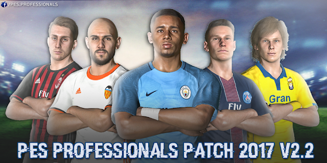 Update Patch PES 2017 dari PES Professionals V2.2