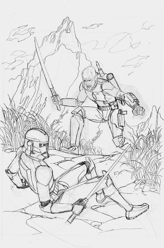 clone war coloring pages - photo#1