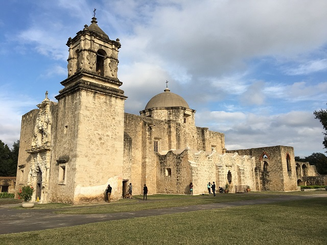Mission San Jose, in San Antonio, pre-dates independent Texas by over 100 years.